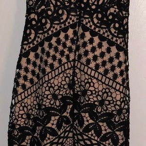Astr Dresses - Black Lace Dress